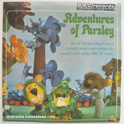 Bbc Records Adventures Of Parsley Lp Golden Hour Of